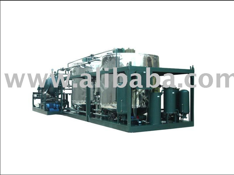 Motor engine used Oil recycling system series LYE/ Oil reprocess/ oil treatment