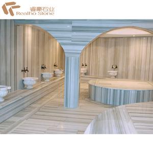 Best Prices White Makrana Marble Floor Design