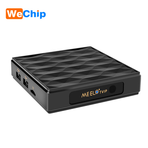 new arrival amlogic s805 iptv set top box satellite receiver MEELO TVIP 4K linux tv box with dual system