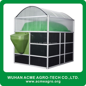 ACME New Portable Assembly Biogas Pit Latrine Waste Digester