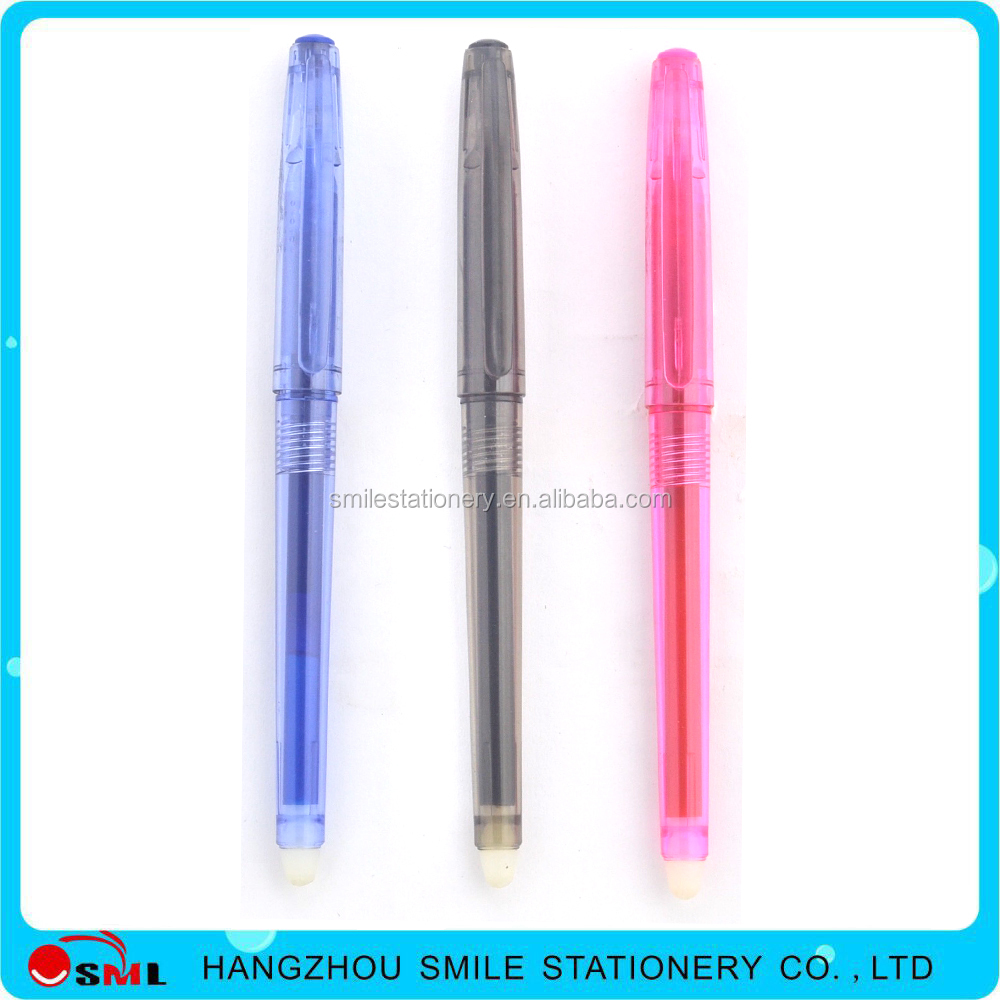 Touch Screen Erasable Gel Ink Pen with Correction Function