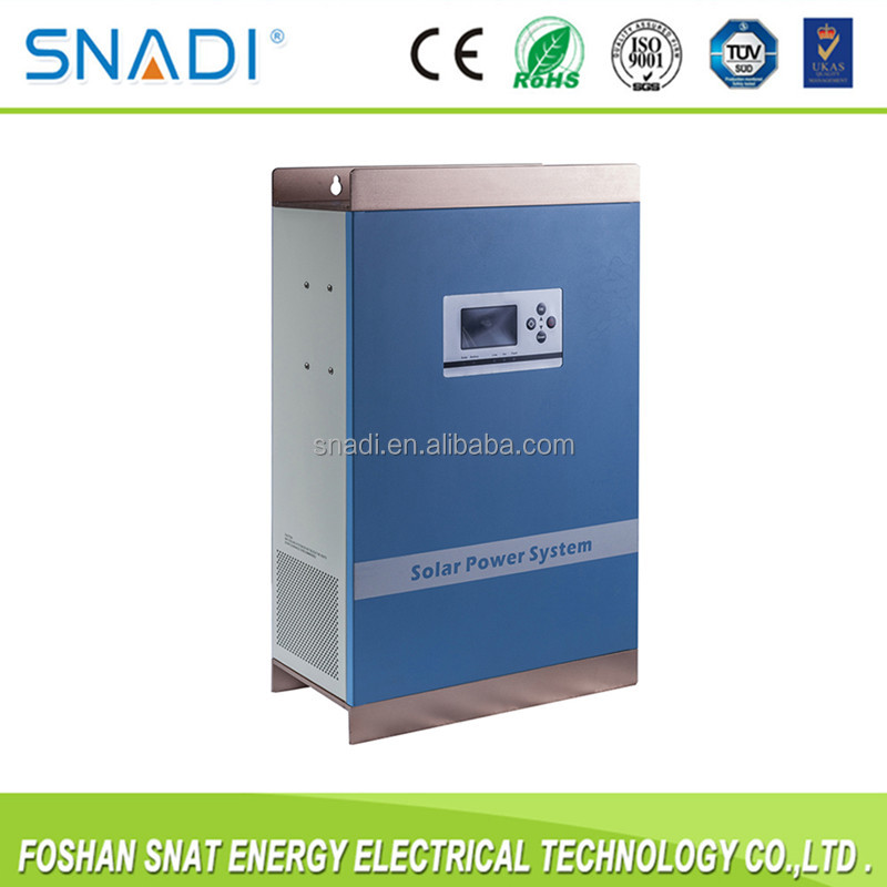 2KW off grid hybrid solar panel inverter with charger for solar power system
