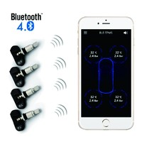Smart phone TPMS for Andrio and IOS Universal wireless bluetooth tire pressure monitoring system CE certification