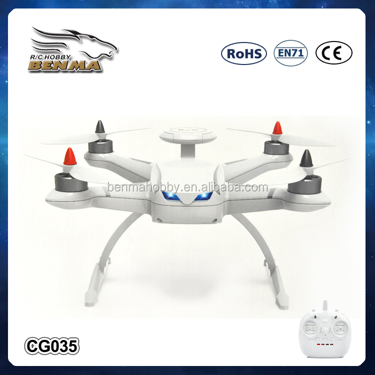 New Products 2016 Toys&Hobbies CG035 6-Axis Gyro Brushless RC Quadcopter Gps Tracking System RTF 2.4GHz Camera Drone