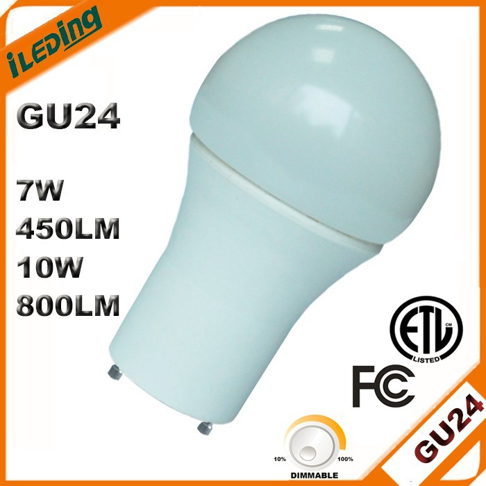 2015 New Product 800LM ETL Dimmable GU24 LED Bulb