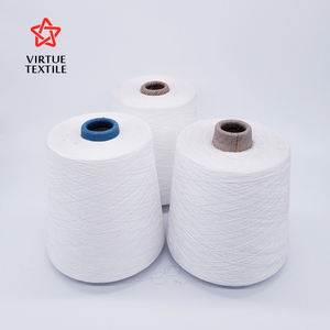 china manufacturer wholesale polyester spun yarn 21/1 for making thread