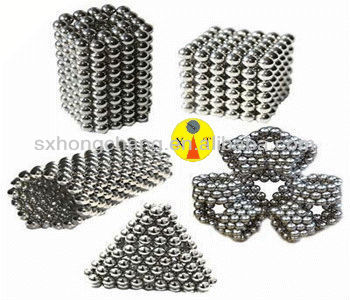 neodymium small ball shaped magnets