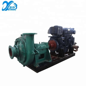 Wear resistant dredge extraction river sand lifting pump