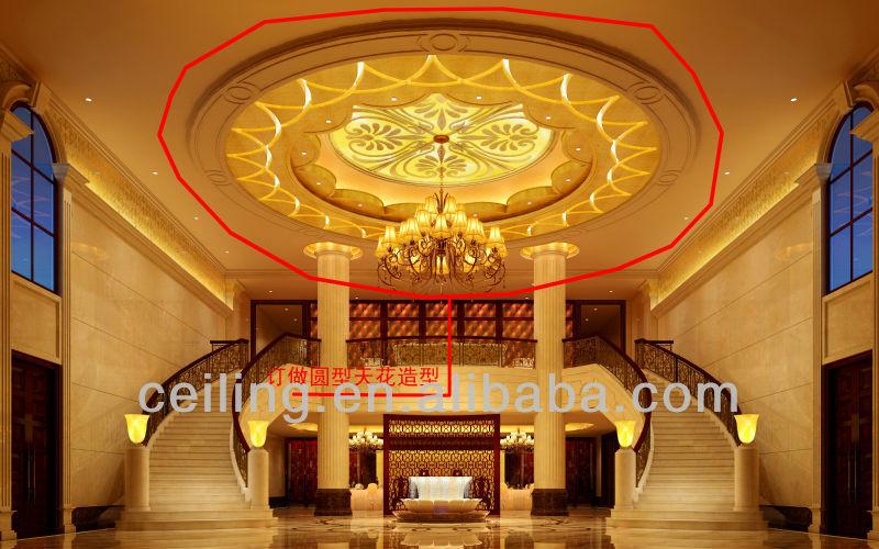 Falso techo de yeso de paris diseños y los materiales de ...