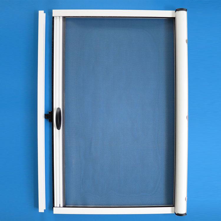 Aluminum Rolling Doors : Aluminum interior roll up door mosquito net rolling