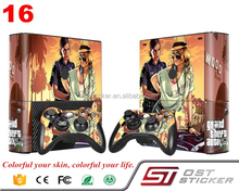 2017 Manufacturer Decorative Skin Sticker Maker For Xbox 360 E Game Consloe Decal