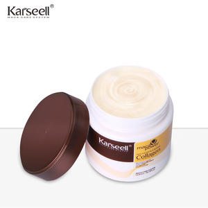 karseell wholesale OEM/ODM herbal keratin collagen hair treatment cream for hair loss