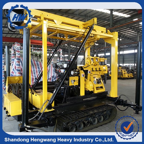 Full Hydraulic Drop Hammer Pile Driver Mini Electric Ground