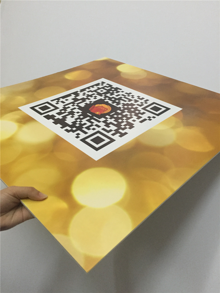 Flat Bed Print 3Mm Uv Print Board For Printing For Signage