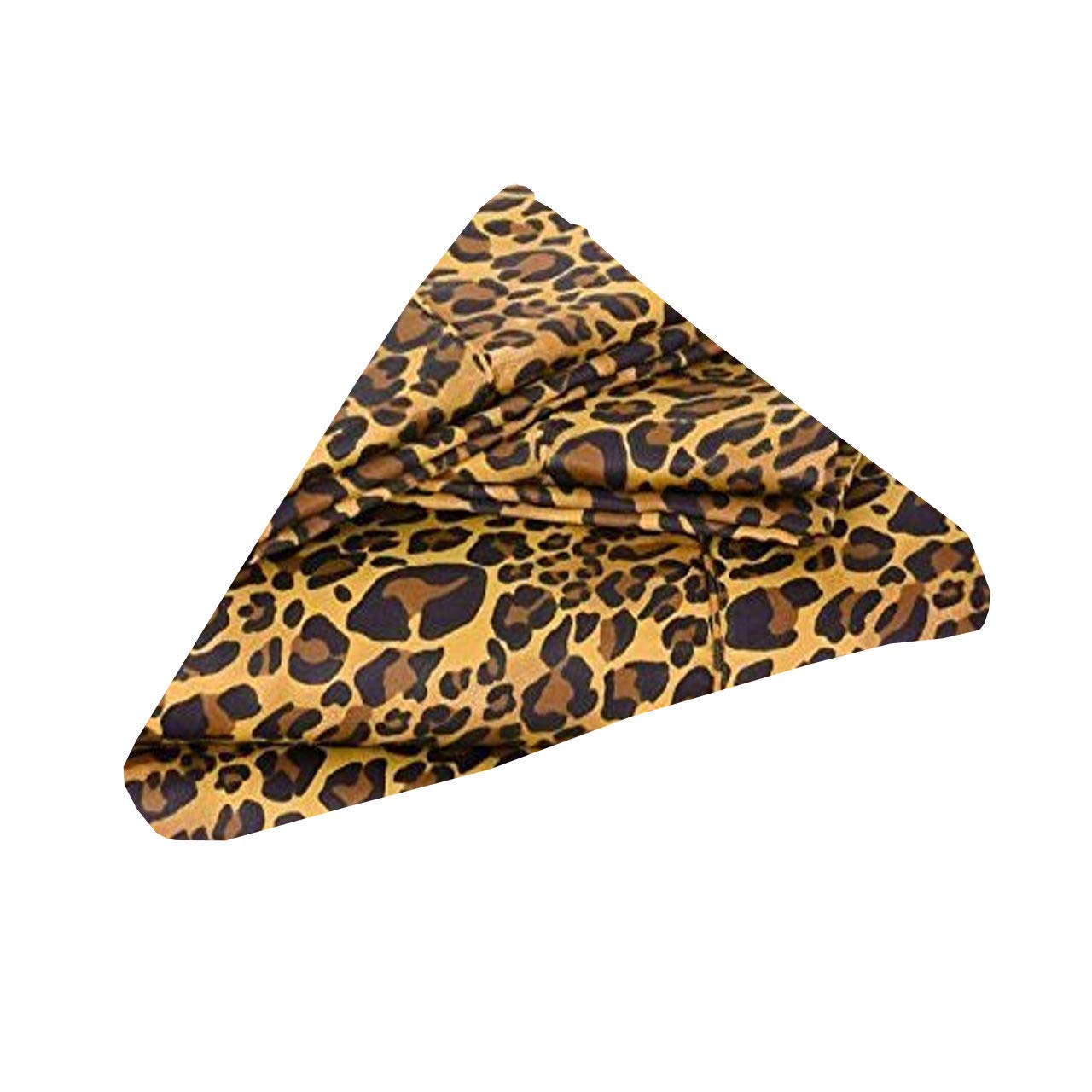 Cotton Napkins - Pack of 20 (18 x 18 inch) Cloth Dinner Table Napkins - Machine Washable, Restaurant/Wedding/Hotel Quality and Regular Home Use 100% Cotton Fabric - Leopard Print