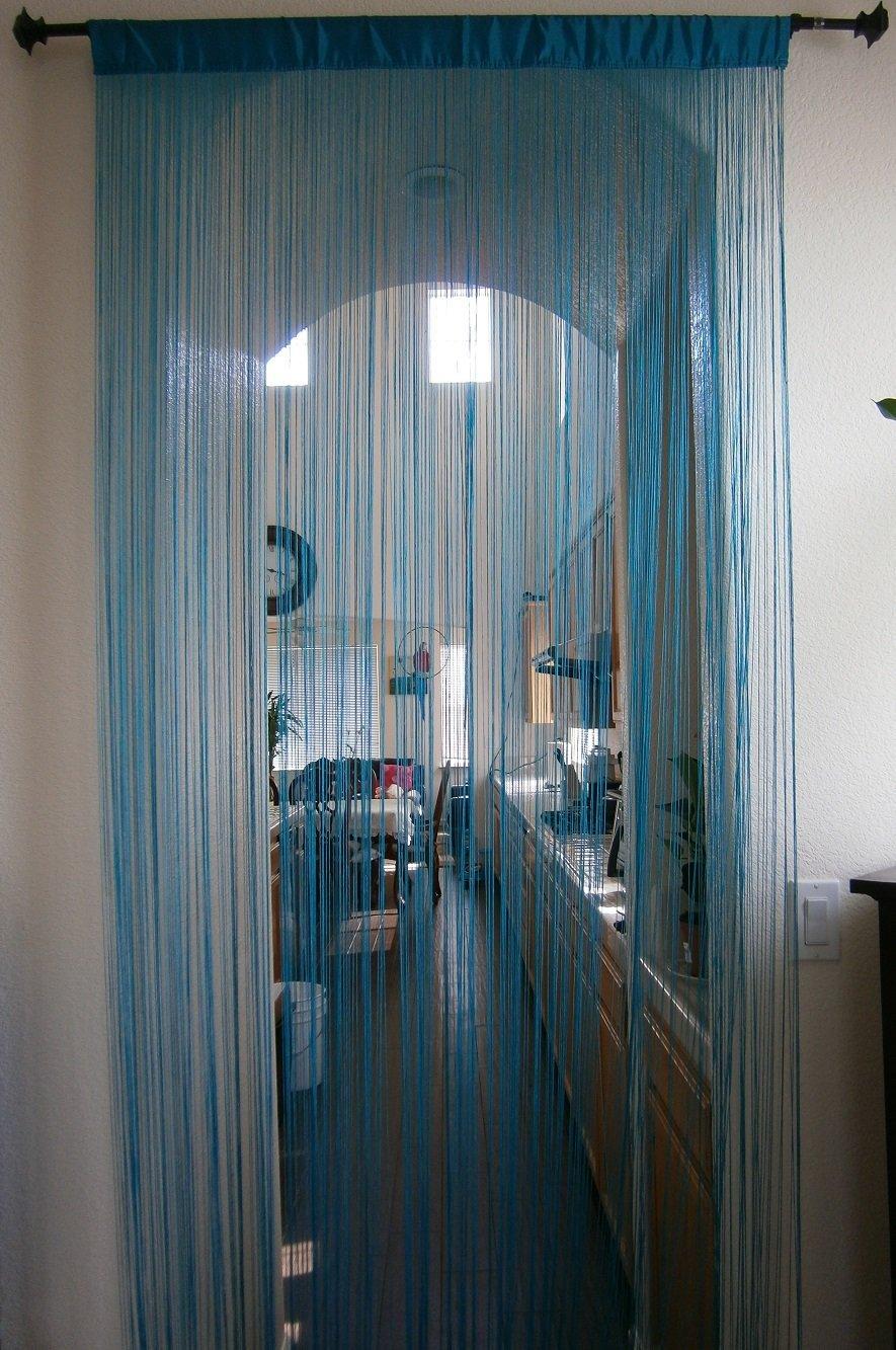 String Curtain Fringe Panel Decoration Room Divider 20: Buy Octorose ® Sexy String Thread Fringe Curtain Panel