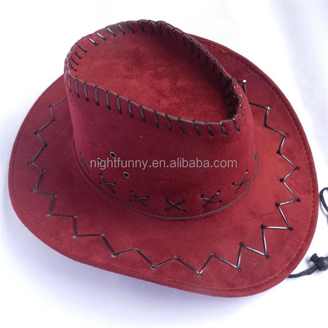 Vendimia década Stetson sombrero blanco gamuza sombrero de vaquero. Ampliar  imagen 8a522f92b57