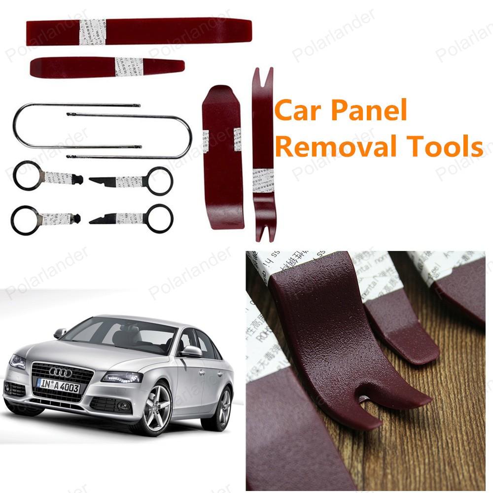 Высокое качество бесплатная доставка комплект инструментов автомобиля средство для удаления панели 10 шт./компл.