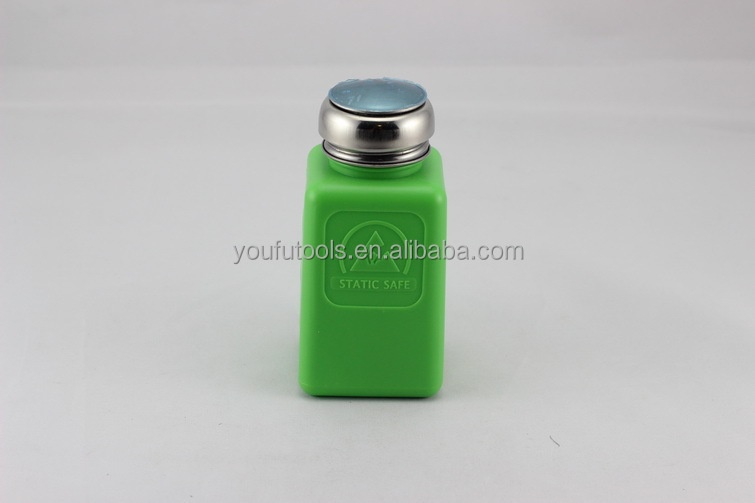 180Ml the new permanent anti-static alcohol bottle thickened push-pressed bottle washer bottle