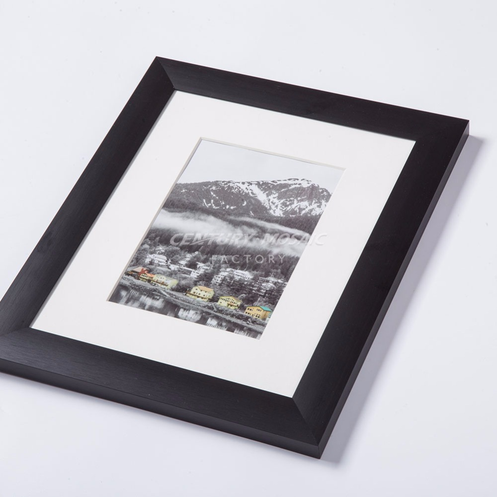 Box frame black picture
