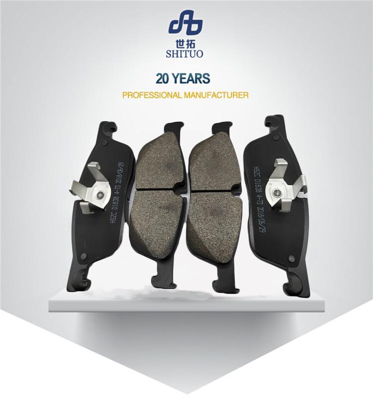 ต่างๆต่ำราคาเซรามิครถเบรค pad 2019 fit สำหรับรถยนต์จำนวนมาก