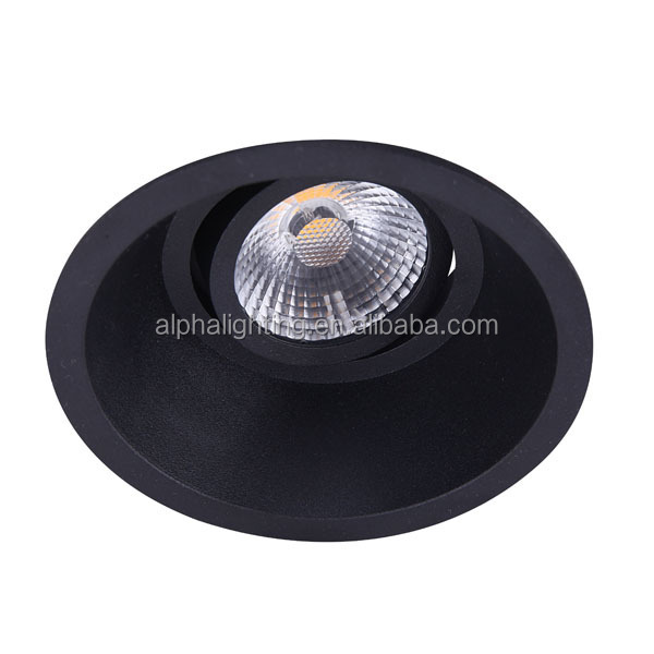 10W 2015 new products high CRI dimmable10w cob led ceiling downlights,recessed led downlights