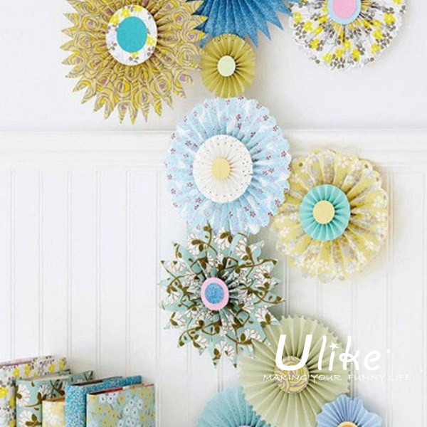 Popur Starburst Fan Orted Flowers For Paper Wedding Wall Decorations View Ulike Product