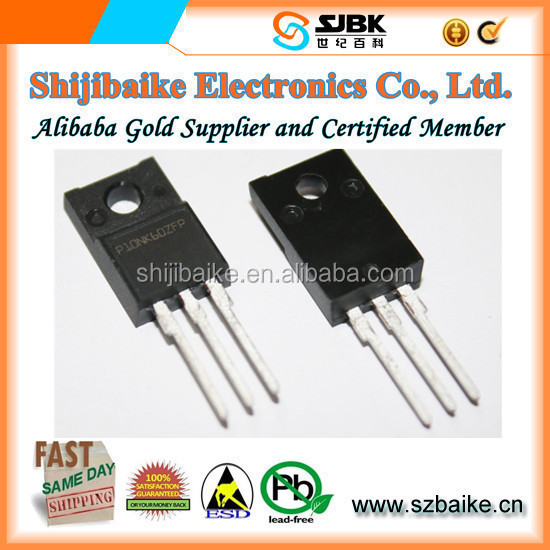 N-Channel Power MOSFET 600V 10A Transistors STP10NK60ZFP