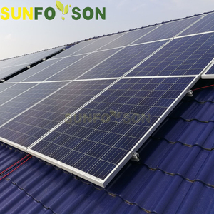 Solar panel mounting bracket home roof pv installlation photovoltaic solar bracket