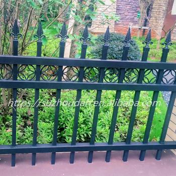 Buy wrought iron style metal garden railings wrought iron gates - Garden Villa Lawn Lowes Wrought Iron Railings Fence Zinc