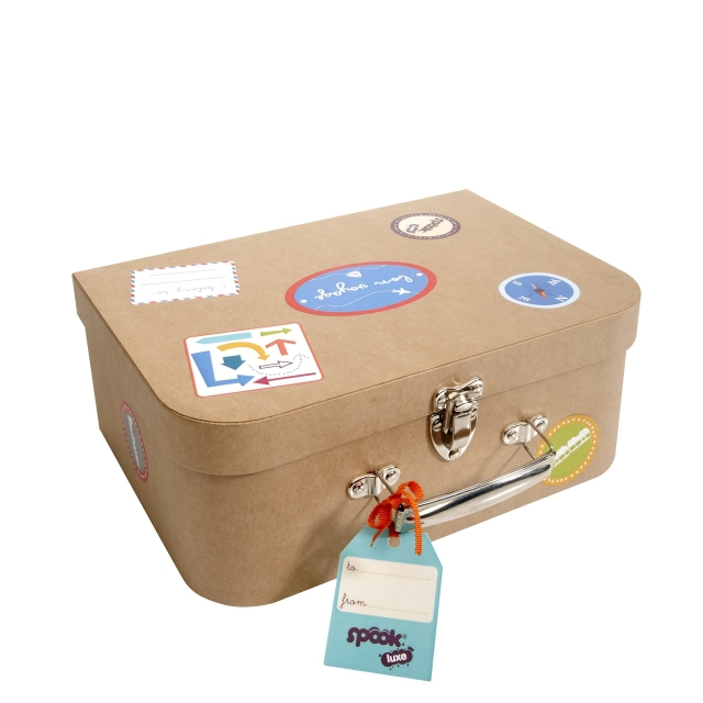 Payment Safety Guarantee Cardboard Handle Suitcase