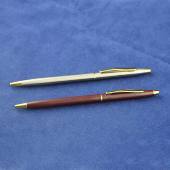 Jiangxin 2014 New Design Metal Pen Heavy Metal Ballpoint Pen Designed In Europe