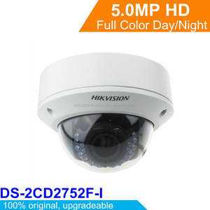 Hikvision Dome 5 Megapixel IP Camera DS-2CD2752F-IS CCTV IP Camera Easy To Install P2P IP Camera