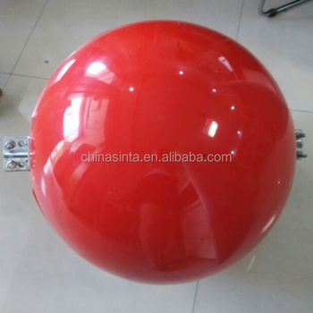 Spherical Warning Marker/aircraft Warning Ball For Overhead Wire ...