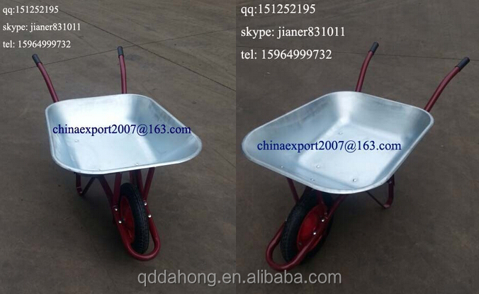 Heavy Duty Construction Wheel barrow WB6200 for Brazil Market