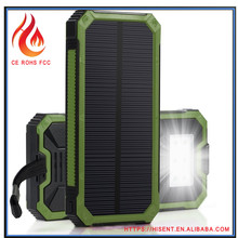 Powerful shenzhen android solar charger case with flashlight