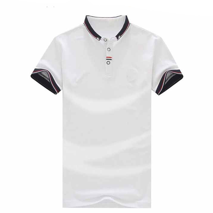 Nouveau design mens uniforme dri fit coton polo t shirt en gros