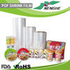 Shrink Film Type Transparent plastic POF shrink film for food packaging
