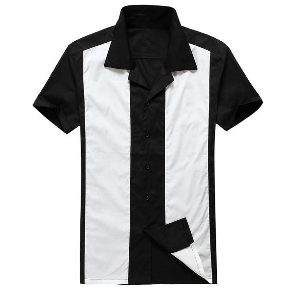 Compra mens camisas de rockabilly online al por mayor de