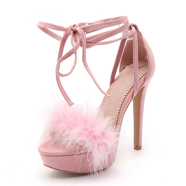 Mature sexy girls latest fashion platform stiletto women 12cm high heel sandals