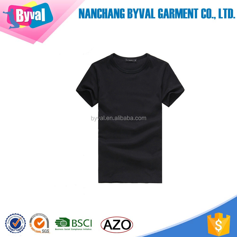 Black t shirt bulk - Oem Bulk Mens T Shirt Wholesale China T Shirts In Bulk Black T Shirt