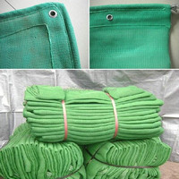 Easy installed scaffolding net for construction protection