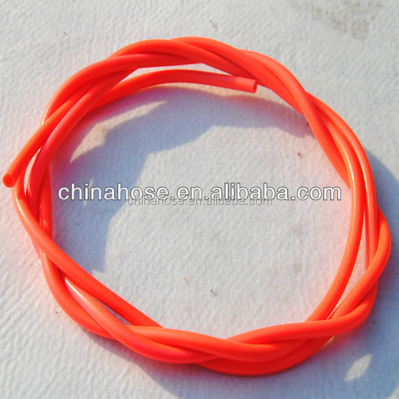 Pvc Clear Single Hose,Electric Wire Protection Tube,Pvc Red Clear ...