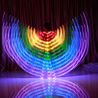 Hot Sale 300 Lights Dance Multicolor Props Cloak Belly LED Wings For Lady