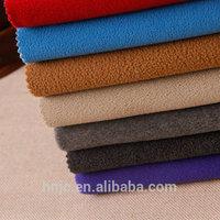 100% Polyester Weft Knitting Polar Stretch Velvet Fabric For Home Textile