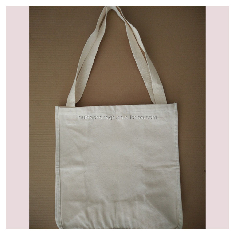 Natural Unbleached Blank Cotton Canvas <strong>Totes</strong> <strong>Tote</strong> Bag with Long Handle 8.9OZ