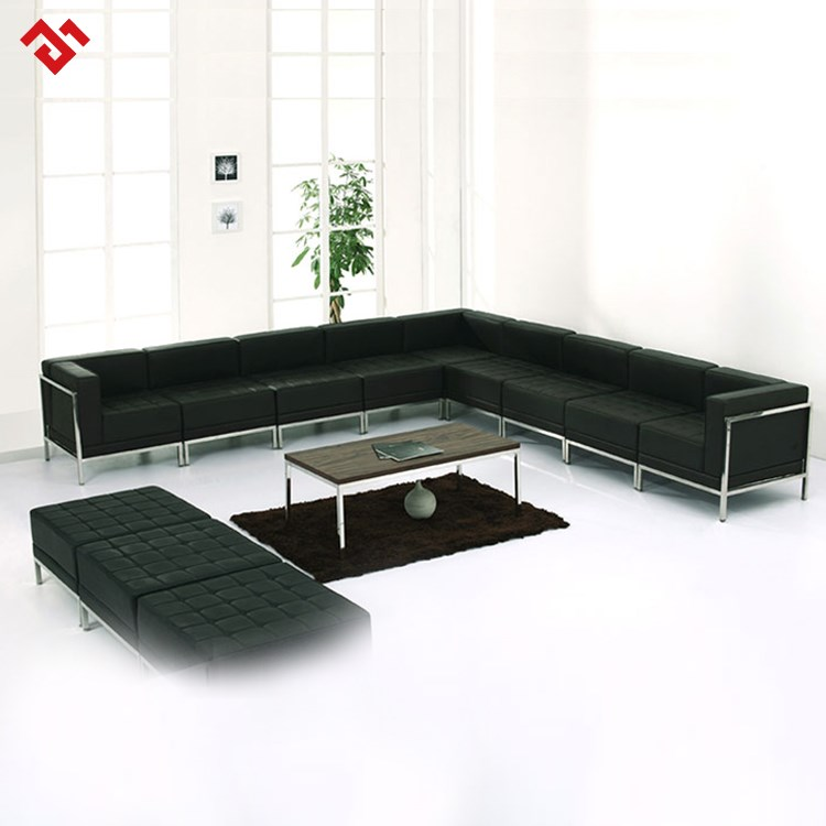 Different Types Of Sofa Sets: L Type Sofa Set Cheap Sectional Sofa With Foot Rest