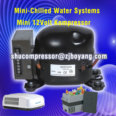 Vervangen bd35f compressor diepvries 12v kleine mobiele for Aire acondicionado autocaravana 12v