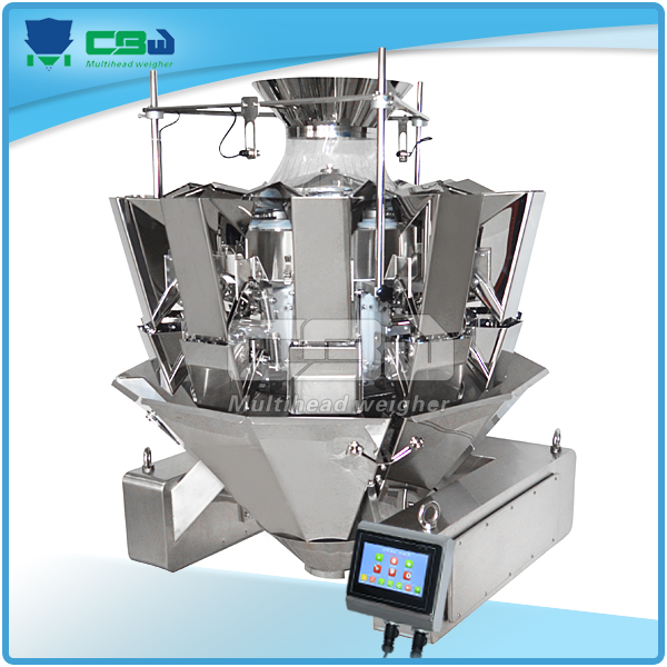Dry Dates Pouch Packing Machinery Mini conbination scale /grain bulk weigher