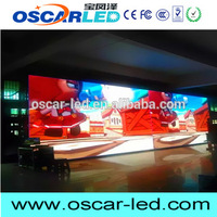 Oscarled Plastic P3 mm indoor led display panel made in China